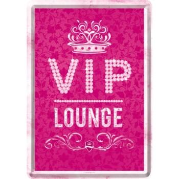 VIP Pink Lounge - Metalna razglednica