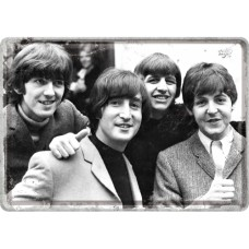 The Beatles - Photo - Metalna razglednica