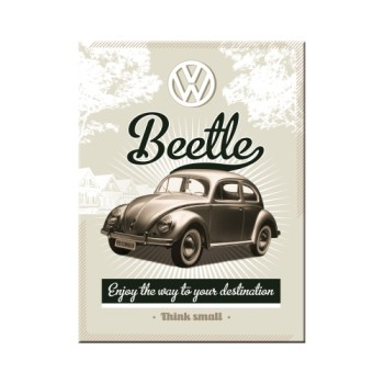 VW Retro Beetle - Magnet