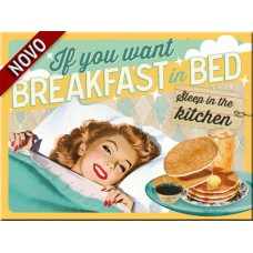 Breakfast In bed - Magnet