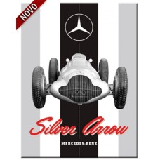 Mercedes - Silver Arrow - Magnet