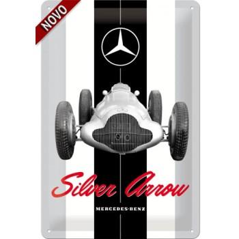 Mercedes - Silver Arrow - Znak 20x30cm