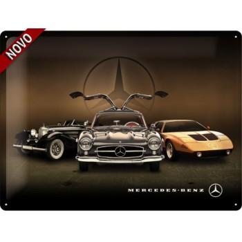 Mercedes - 3 cars - Znak 30x40