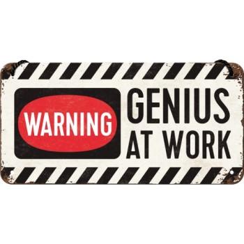 Genius at Work - Viseći znak