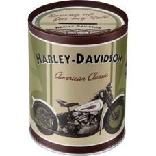 Harley-Davidson Knucklehead - Kutija za novac