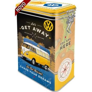 VW Bulli - Lets Get Away - Kutija sa poklopcem