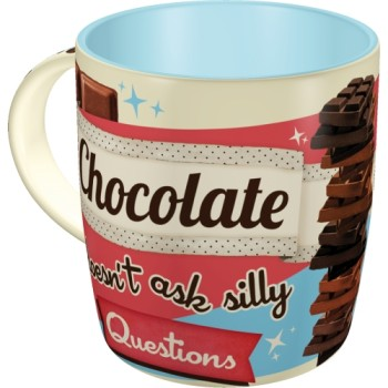 Chocolate Doesn't Ask - šolja
