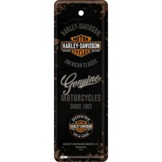 Harley-Davidson Genuine Logo - Metalni obeleživač
