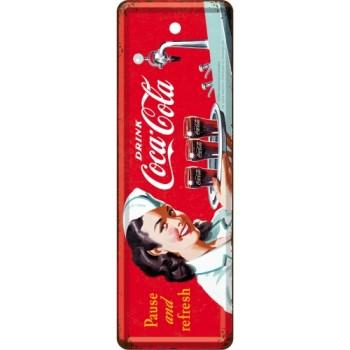 Coca-Cola - Waitress - Metalni obeleživač