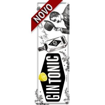 Gin Tonic - Metalni obeleživač - Bookmark