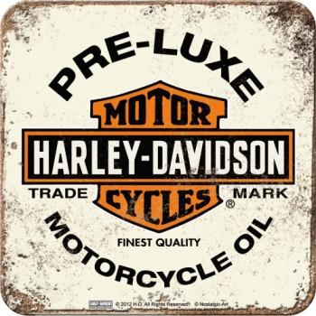 Harley-Davidson PRE-LUXE white - Metalni podmetač