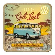 VW Bulli - Let's Get Lost - Metalni podmetač