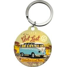 VW Bulli - Let's Get Lost - Privezak za ključeve