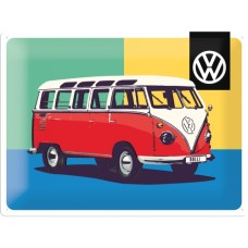 VW Bulli Pop Art Special Edition - Znak 30x40cm
